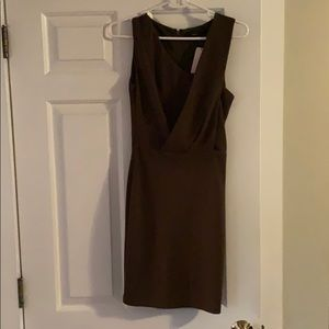 Ark & co. Brown dress